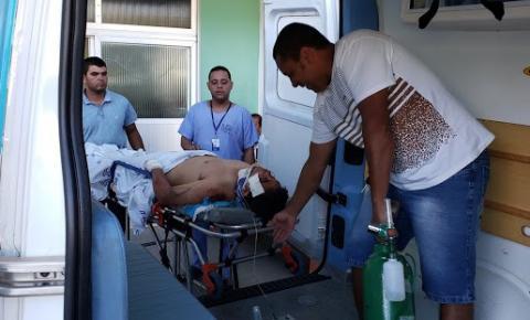 Motociclista corre risco de ficar paraplégico, vítima de acidente na Bahia