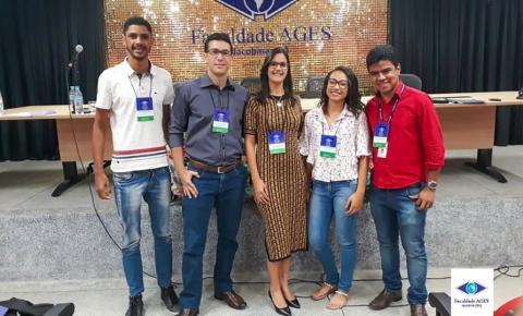 Casal de farmacêuticos de Jacobina realizam palestra na AGES com o tema: Empreendedorismo na área farmacêutica