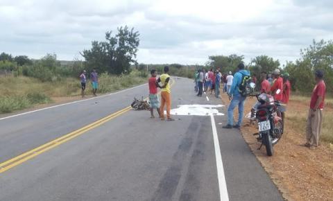 Trágico acidente deixa dois mortos próximo ao Icó no município de Morro do Chapéu