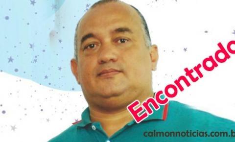 Professor José Augusto (Dagaita) é encontrado na região de Saúde