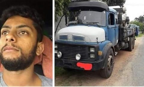 Família pede ajuda para encontrar caminhoneiro desaparecido