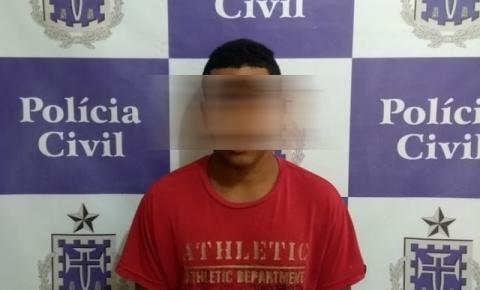 Polícia Civil de Jacobina prende acusado de tentativa de feminicídio em Itapeipu