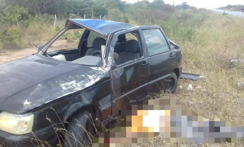 Acidente deixa duas vítimas fatais em Pintadas