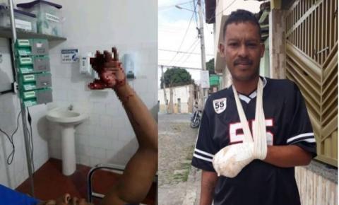 Homem perde três dedos da mão ao soltar bomba no interior da Bahia