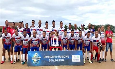 Juventude é pentacampeão municipal de Quixabeira