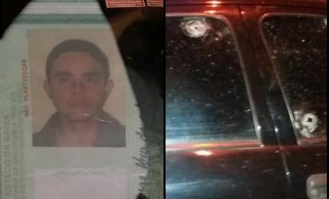 Homem é assassinado com tiro em Caatinga do Moura de Jacobina