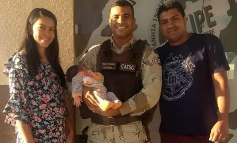 Recém-nascida engasga com leite materno e é salva com ajuda de bombeiro na Bahia