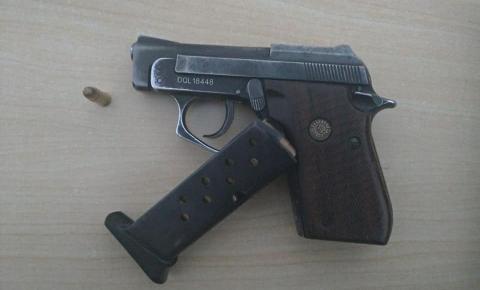 Homem é preso em Jacobina por porte ilegal de arma de fogo