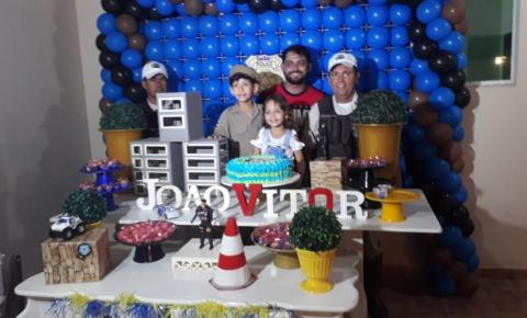 Polícia Rodoviária Estadual participa de aniversário e realiza sonho de criança em Jacobina