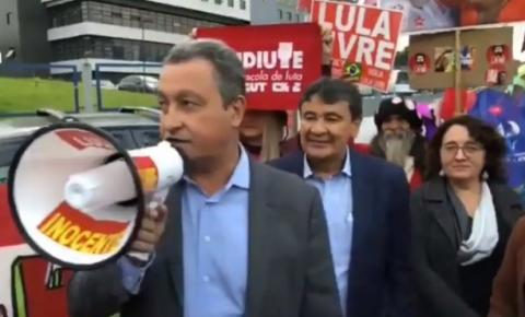 Rui Costa visita ex-presidente Lula e reforça tese de