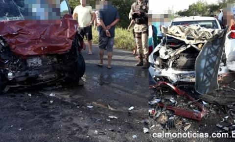 Mais informações do grave acidente deixa dois mortos em Miguel Calmon