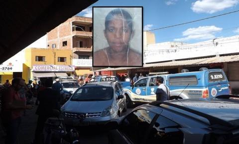Mulher é executada a tiros em um bar na feira livre no interior da Bahia