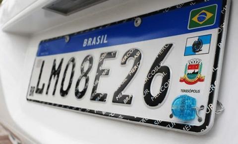Novas regras da placa Mercosul passam a valer em 28/8 em todo o Estado