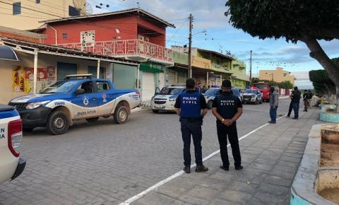 Polícia Civil prende homens acusados de tráfico e homicídio no Distrito do Junco de Jacobina