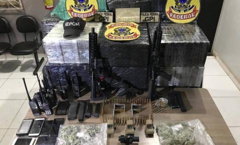 Polícia Federal apreende mais de meia tonelada de cocaína em fazenda de prefeito