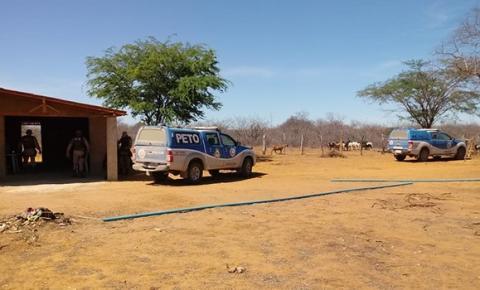 Polícia Militar localiza plantação com 40 mil pés de maconha em Umburanas