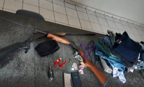 PM surpreende grupo que atacou agências no interior da Bahia; dois criminosos são mortos