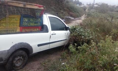 Ciclista é atropelado próximo a São José do Jacuípe veículo é de Quixabeira