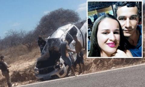 Casal morre em grave acidente próximo a Casa Nova na Bahia