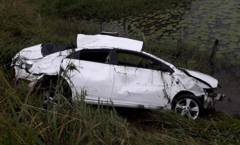 Grave acidente entre Mairi a Baixa Grande na Bahia