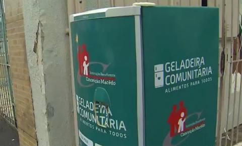 Geladeira solidária é roubada em Salvador menos de 24h após ser instalada