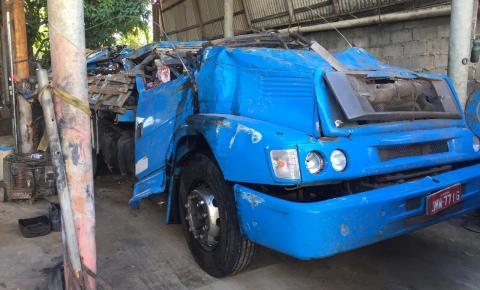 Caminhoneiro de Serrolândia sofre grave acidente no sul da Bahia