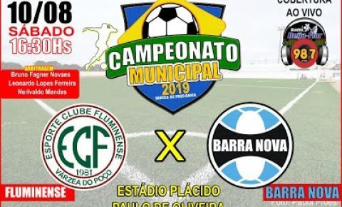 Veja os jogos deste final de semana pelo Campeonato Municipal de Futebol de Várzea do Poço
