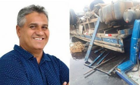 Ex-prefeito de Ipirá morre em acidente de carro na Estrada do Feijão