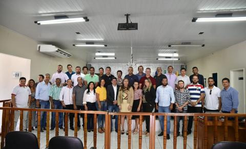 UVEPI realiza na Câmara de Serrolândia palestra sobre mudanças na legislação eleitoral
