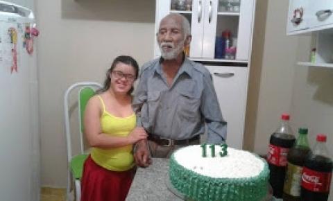 Baiano completa 113 anos em Quixabeira