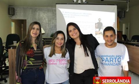 Palestra sobre Parto Humanizado é realizada em Serrolândia