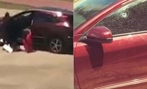 Homem é morto pela polícia durante perseguição após roubar veículo na orla de Salvador; veja vídeo