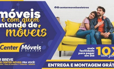 Promoções Center Móveis  - Móveis é com quem entende de móveis