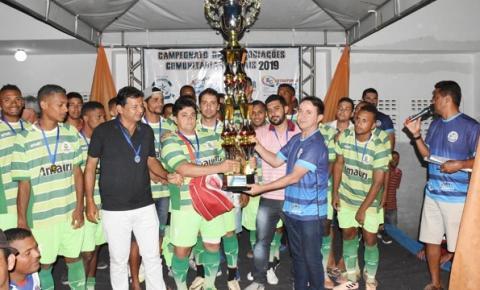 Tapiranga é campeão do 21º Campeonato das Associações Rurais de Miguel Calmon