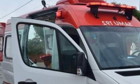 Homem sofre acidente de moto na estrada do Angico