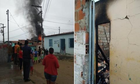 Explosão de aparelho celular provocou incêndio em residência e criança de 14 anos teve 80% do corpo queimado na Bahia