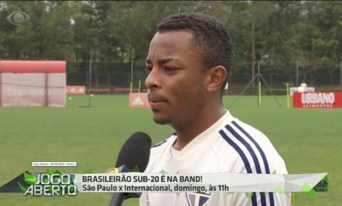 Serrolandense jogador do São Paulo é destaque no Programa Jogo Aberto: Assista