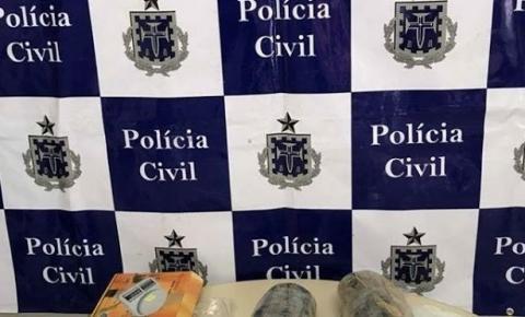 Polícia Civil prende mulher e apreende drogas em Morro do Chapéu