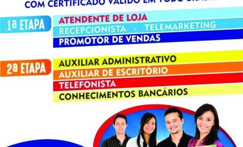 Instituto de capacitação profissional trouxe até Serrolândia 8 cursos de de capacitação profissional gratuito