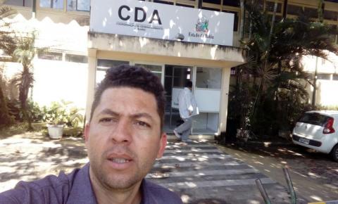 Vereador Gi de Zeza busca soluções junto a CDA para escriturar os imóveis de Serrolândia