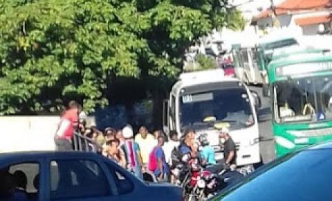 Paciente surta em ônibus da saúde de Mairi, em Salvador