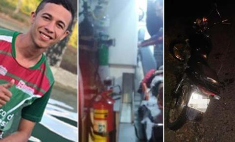 Jovem tem perna decepada em acidente com moto no município de Capim Grosso