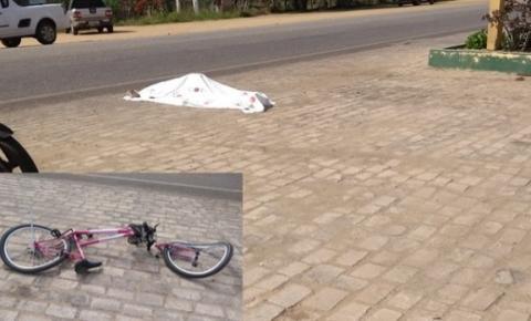 Mulher morre atropelada em Capim Grosso neste domingo 22