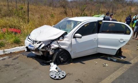Mulher morre 15 dias após acidente entre três veículos em Barreiras