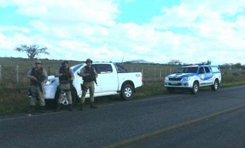 98ª CIPM recupera veículo tomado de assalto na BA-233, entre Ipirá e Itaberaba