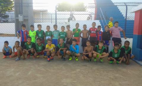 Oficina de futsal do projeto SERROLÂNDIA ESPORTE E LAZER é realizado com sucesso