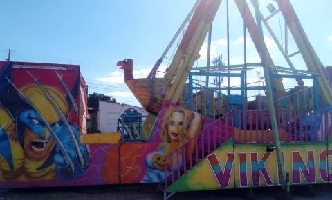 Parque de diversão Eventos e Cia chegará em Serrolândia no próximo final de semana