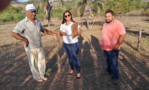 O consórcio Jacuípe por meio do Serviço de Inspeção Municipal realiza inspeção prévia no município de Várzea do poço