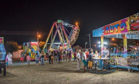 Parque de diversão Eventos e Cia funcionando a todo vapor em Serrolândia