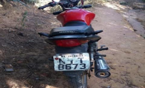 Motocicleta é furtada em Alto do Capim na cidade de Quixabeira